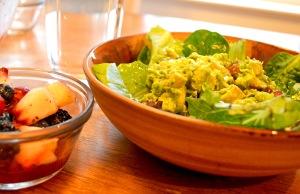 chickensaladandfruitsalad