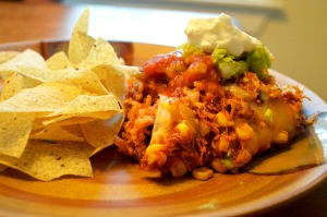 EnchiladaCasseroleBrownRice
