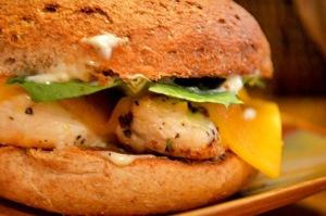chickentenderloinbagelsandwich