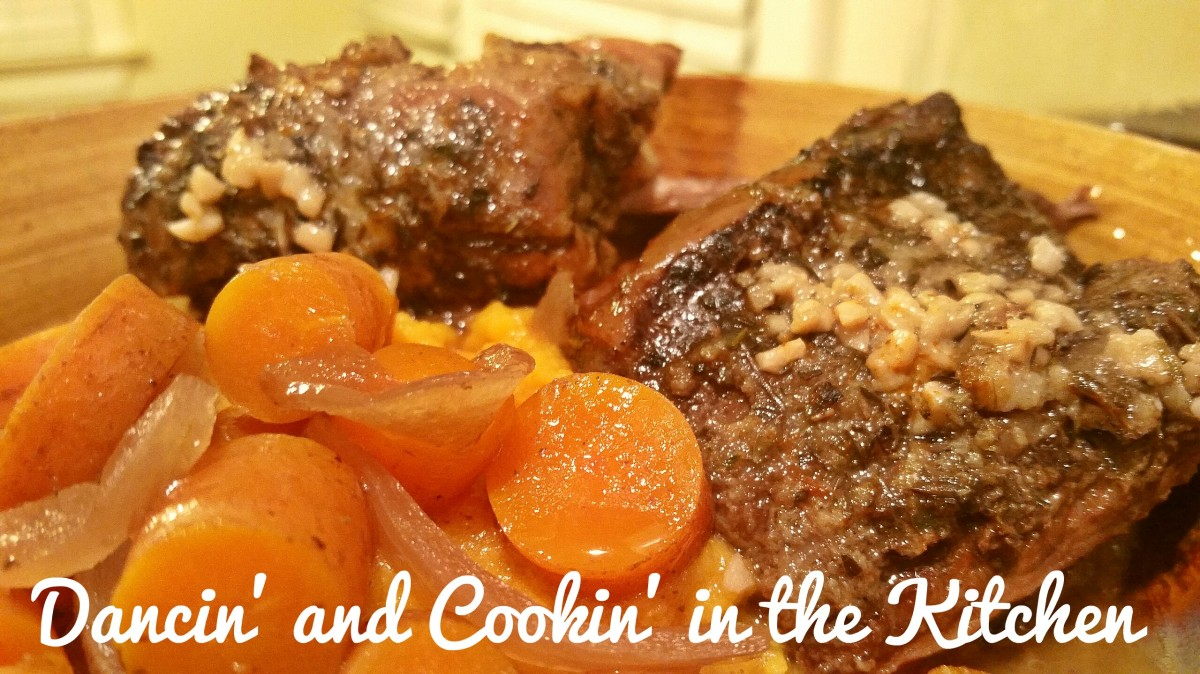 Slow Cooker Short Ribs and Carrots with Creamy Rosemary Mashed Sweet ...